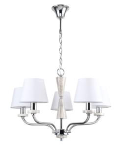 Pakabinamas šviestuvas su keramikos papuošimu MW-Light Elegance Vitalina