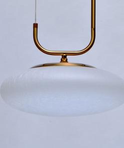 Ovalo formos LED šviestuvas DE MARKT Hi-Tech Auksis