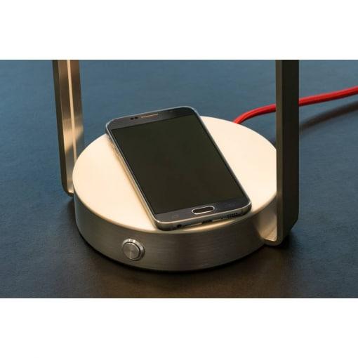 Stalo šviestuvas - belaidis įkroviklis su USB SLV BRENDA