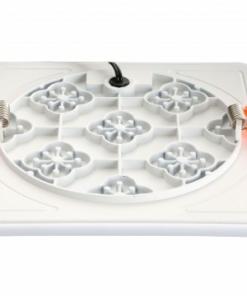 Atspari vandeniui kvadratinė berėmė LED panelė FRAMELESS