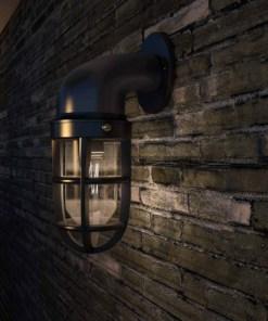 Sieninis šviestuvas su grotelėmis BROOKLYN