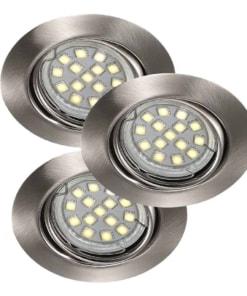 Įleidžiamas reguliuojamos krypties LED šviestuvas Nordlux TRITON (3vnt)