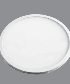 Atspari drėgmei balta LED panelė su plonu rėmeliu