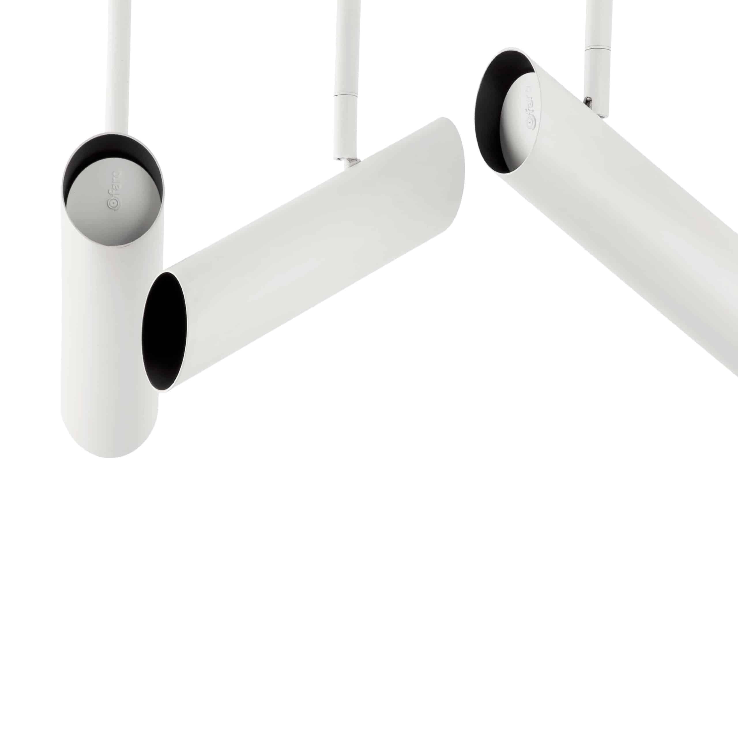 4 lempų lubinis kryptinis šviestuvas FARO LINK
