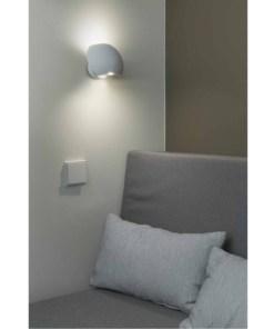 Sieninis LED šviesuvas miegamajam FAROSWING