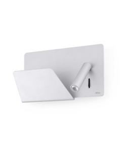 Šviestuvas skaitymui su lentynėle USB jungtimi FARO SUAU