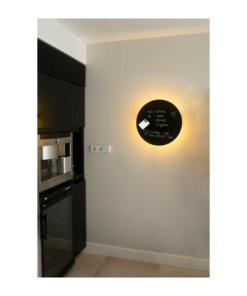 Sieninis LED šviestuvas rašymo lenta FARO BOARD