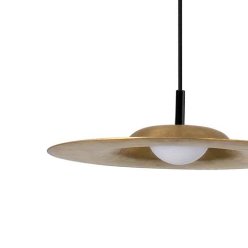 Skandinaviško stiliaus žalvarinis LED šviestuvas FARO COSMOS