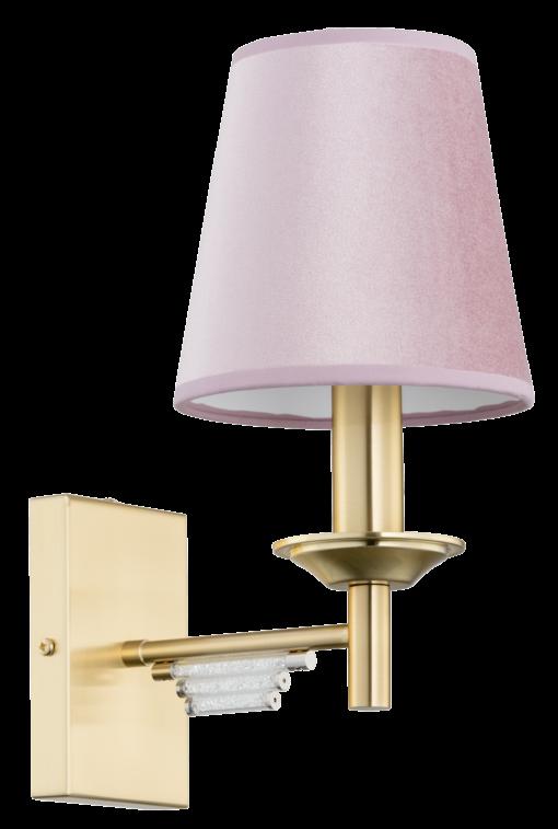 Sieninis šviestuvas su Swarovski elementais KUTEK FELINO