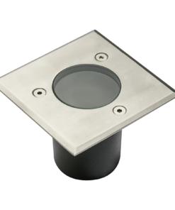 Mažas kvadratinissodo šviestuvas GTV ALFA MINI