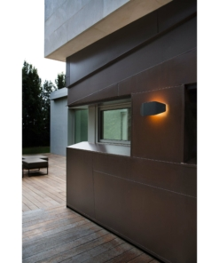 Modernus sieninis lauko šviestuvas FARO FUTURE