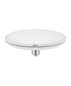18W Baltos spalvos LED lemputė E27 GTV UFO