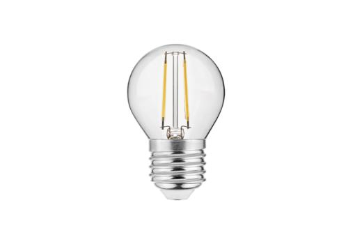 2W Filamentinė LED lemputė E27 GTV G45