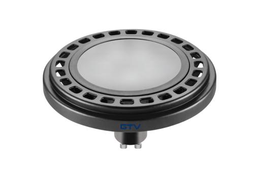 12W Juoda LED lemputė GU10 GTV ES111