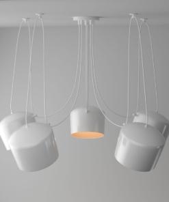 Modernus pakabinamas LED šviestuvas REGENBOGEN TECHNO