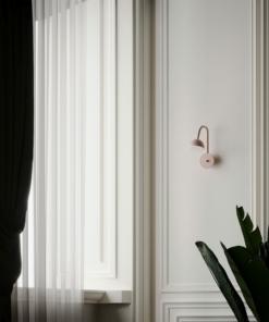 Modernus sieninis šviestuvas NORTHERN BLUSH WALL