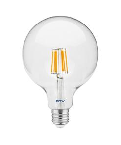8W Filamentinė LED lemputė E27 GTV G125