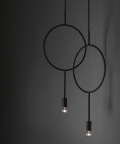 Minimalistinio stiliaus šviestuvas NORTHERN CIRCLE