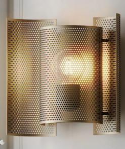 Perforuotas sieninis šviestuvas NORTHERN BUTTERFLY PERFORATED