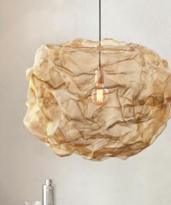 Skandinaviškas pakabinamas šviestuvas NORTHERN HEAT BRASS