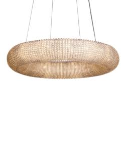 Krištolinis žiedo formos šviestuvas PALLERO ARIA
