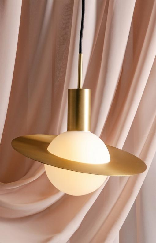 Plokščios formos šviestuvas PALLERO AURA