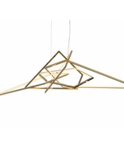 Modernus svetainės šviestuvas PALLERO AZURE