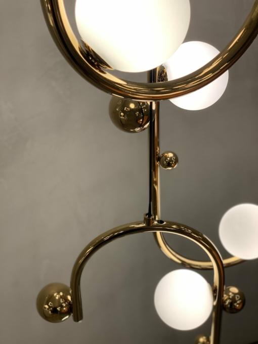 Lenktos formos šviestuvas PALLERO GALAXY
