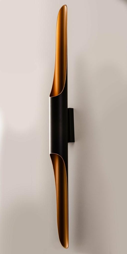 Modernus sieninis šviestuvas PALLERO GOTHAM