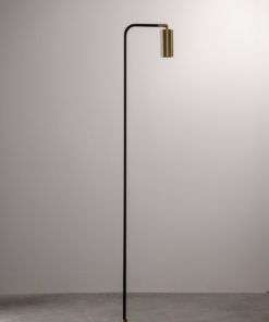 Juodas minimalistinis toršeras PALLERO OCTA