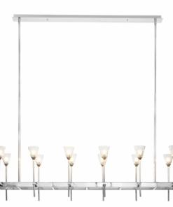 Sietynas su gėlės formos lemputėmis PALLERO SAVILLE