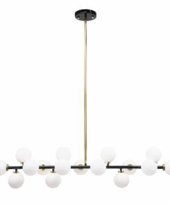 Minimalistinis šviestuvas svetainei PALLERO SPACE