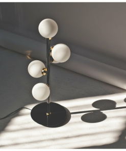 Modernus 5 lempučių stalo šviestuvas PALLERO SPACE