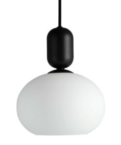 Pakabinamas šviestuvas su stiklo gaubtu NORDLUX NOTTI