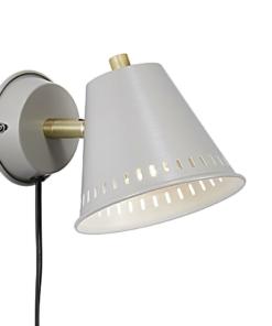 Sieninis šviestuvas su perforuotu gaubteliu NORDLUX PINE