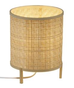 Bambukinis stalo šviestuvas NORDLUX TRINIDAD