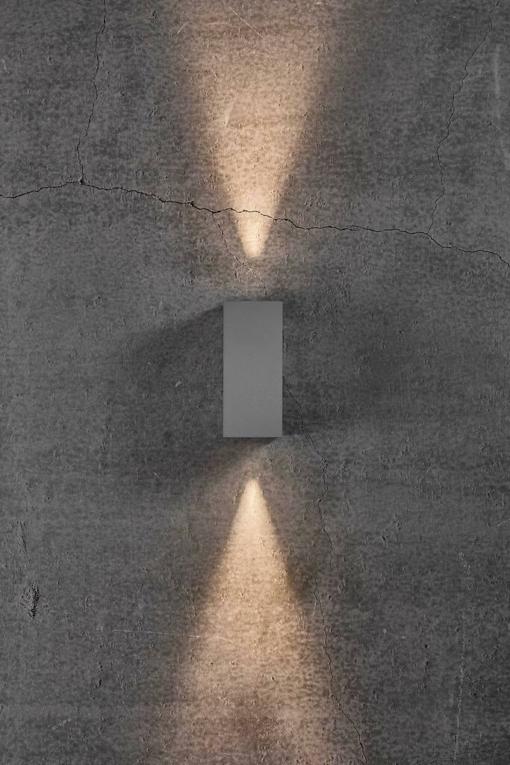 Sieninis šviestuvas NORDLUX ASBOL KUBI