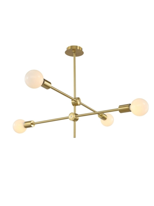 Pakabinamas šviestuvas su 4 lempomis Pallero NUM