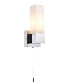 Sieninis šviestuvas su matinio opaliniu stiklu Endon SQUARE
