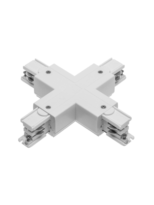 X formos kryžminė jungtis 4 šerdžių bėgeliui GTV X-RAIL