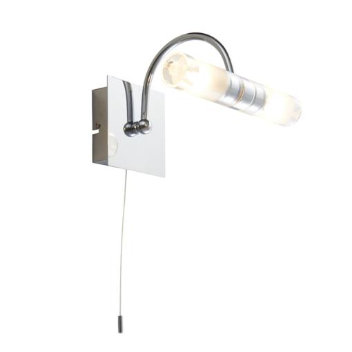 Išlenktas sieninis šviestuvas su matiniu stiklu Endon SHORE