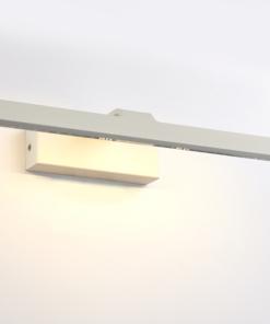 Baltas matinis sieninis šviestuvas Endon SARTRE