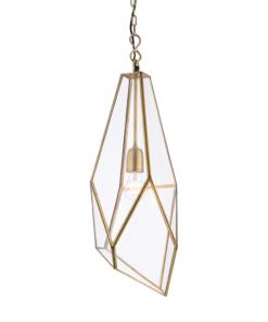 Modernus pakabinamas šviestuvas su geometrinėmis formomis Endon AVERY