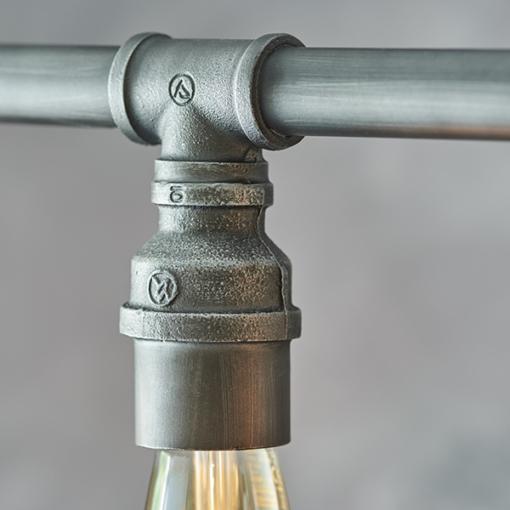 Pakabinamas Sendinto alavo spalvos šviestuvas Endon PIPE