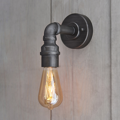 Sieninis Sendinto alavo spalvos šviestuvas Endon PIPE
