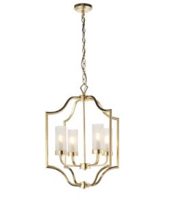 Pakabinamas šviestuvas su matiniu stiklu Endon EDREA
