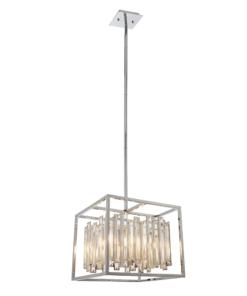 Reguliuojamo aukščio pakabinamas šviestuvas su stiklo kristalais Endon ACADIA