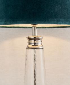 Stalinis šviestuvas su skaidraus nelygaus stiklo pagrindu Endon WINSLET