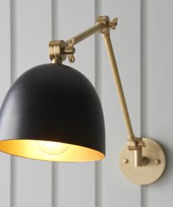 Reguliuojamos padėties sieninis matinis šviestuvas Endon LEHAL