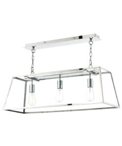 Reguliuojamo aukščio modernus trijų lempučių  šviestuvas Dar ACADEMY
